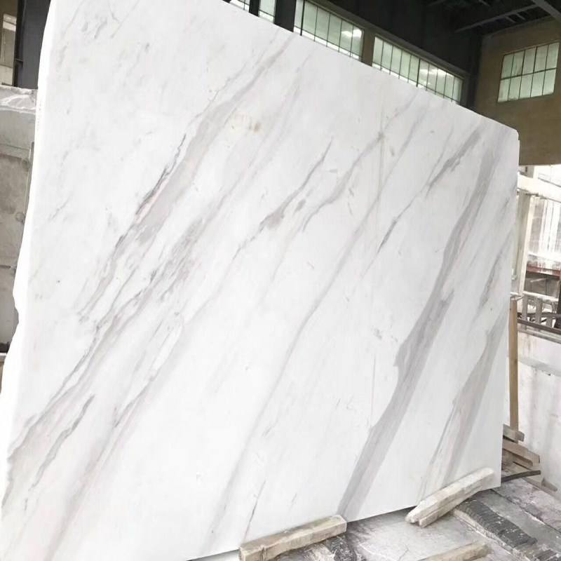 High Quality Volakas White Marble Floor Design