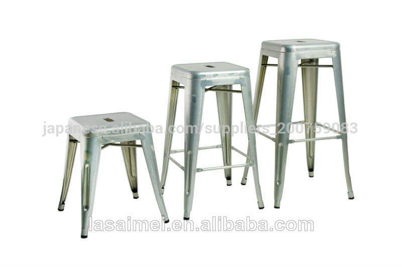 Replica Marais Tolix metal bar stool/chair