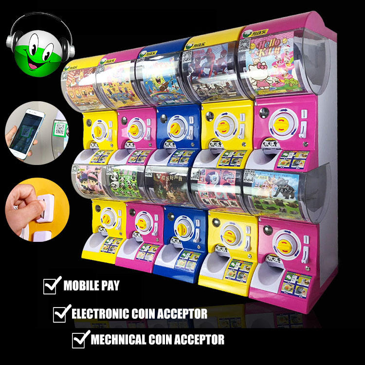 Intelligent NNL-128 Gacha Gashapon Toys Capsule Vending Machine