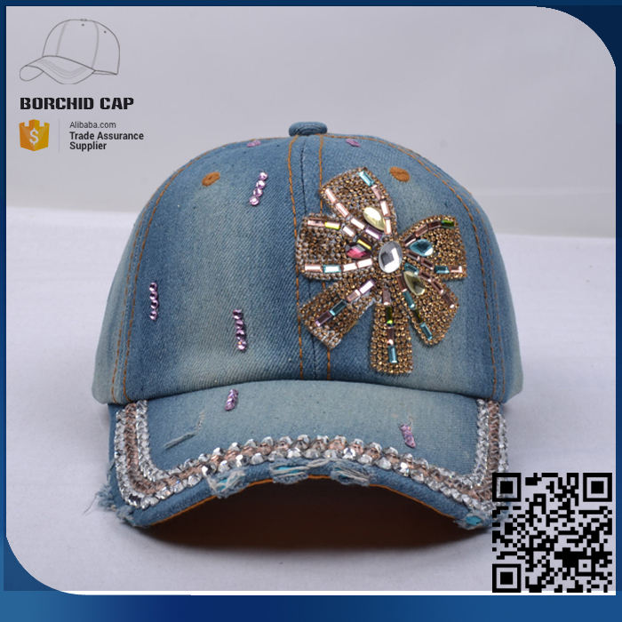 Buckle Closure Bling Bill Women Hat Fashion 6 Panel Faux Leather Strap