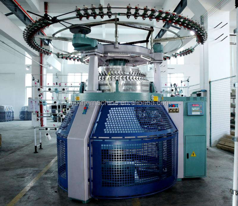 Circular Knitting Machine-High Speed Multiple Pattern Double Jersey Computerize Jacquard Circular Knitting Machine