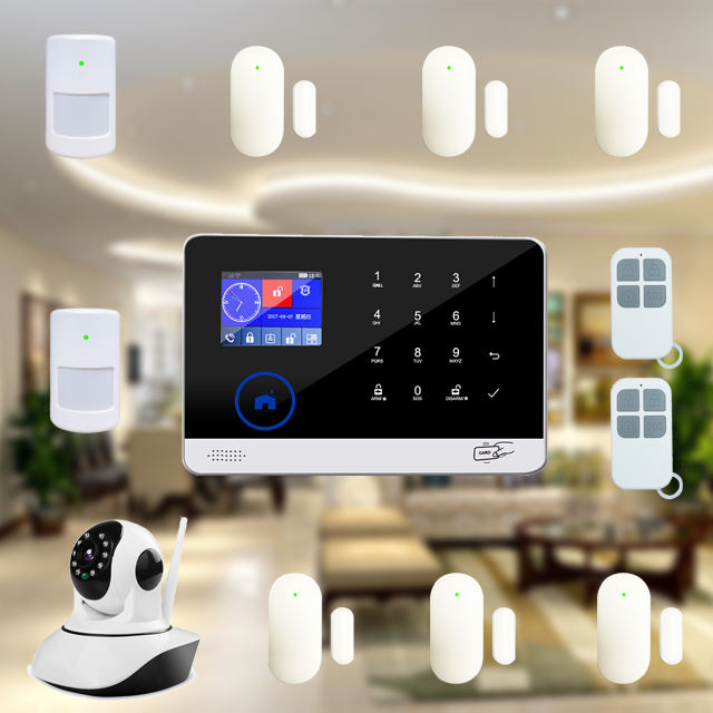 2019 Newest Smart home security GSM WIFI House Alarm System with camera and siren
