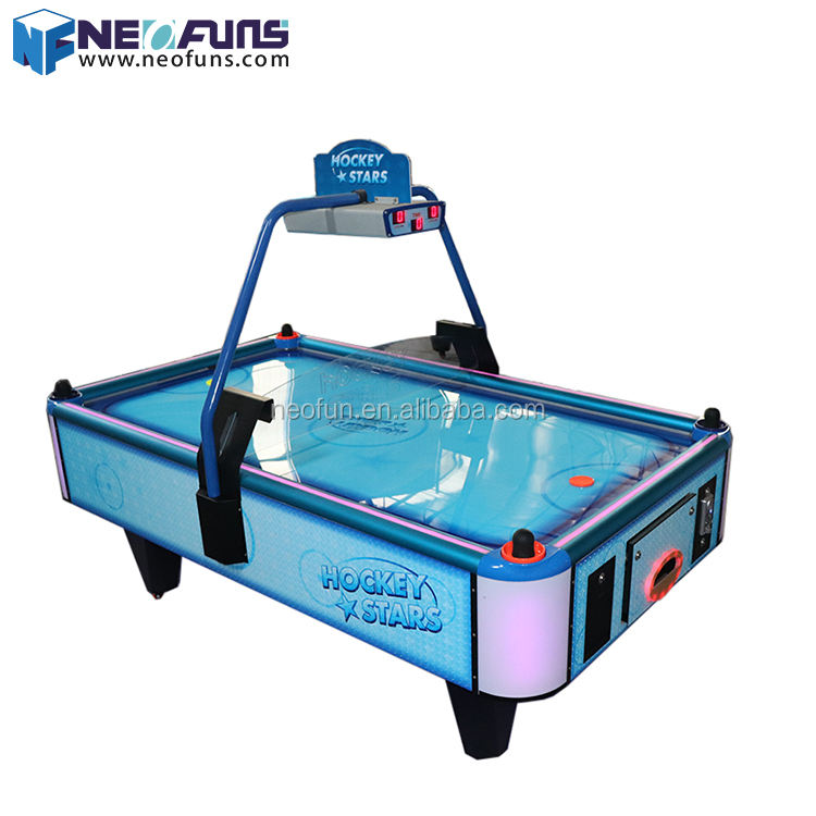 Neofuns coin operated 8 ft superior air hockey table superior quality game table