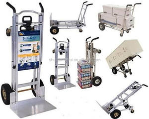 New Aluminum Folding hand trolley/moving foldable hand trolley size