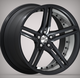 19inch car replica alloy wheel rims for sales cb 73.1 black machine face tire wheels