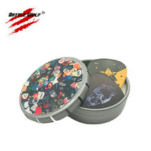Accommodate 15-25pcs Metal Material Custom Guitar Pick Box