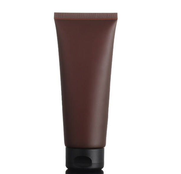 Wholesale Empty Amber PE 100ミリリットルPlastic Soft Tube Facial Cleanser Cosmetic Packaging Tube