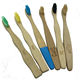 TR-036 free sample oem 100% natural wholesale bamboo toothbrush/charcoal bamboo toothbrush