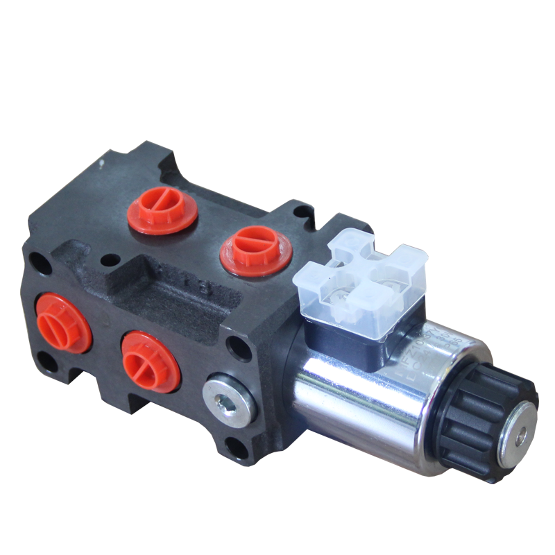 50lpm flow rate joystick hydraulic control valve pump made in china