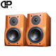 Delixin F30 6.5 inch wooden box super bass hifi speaker cheap bookshelf speaker from China factory