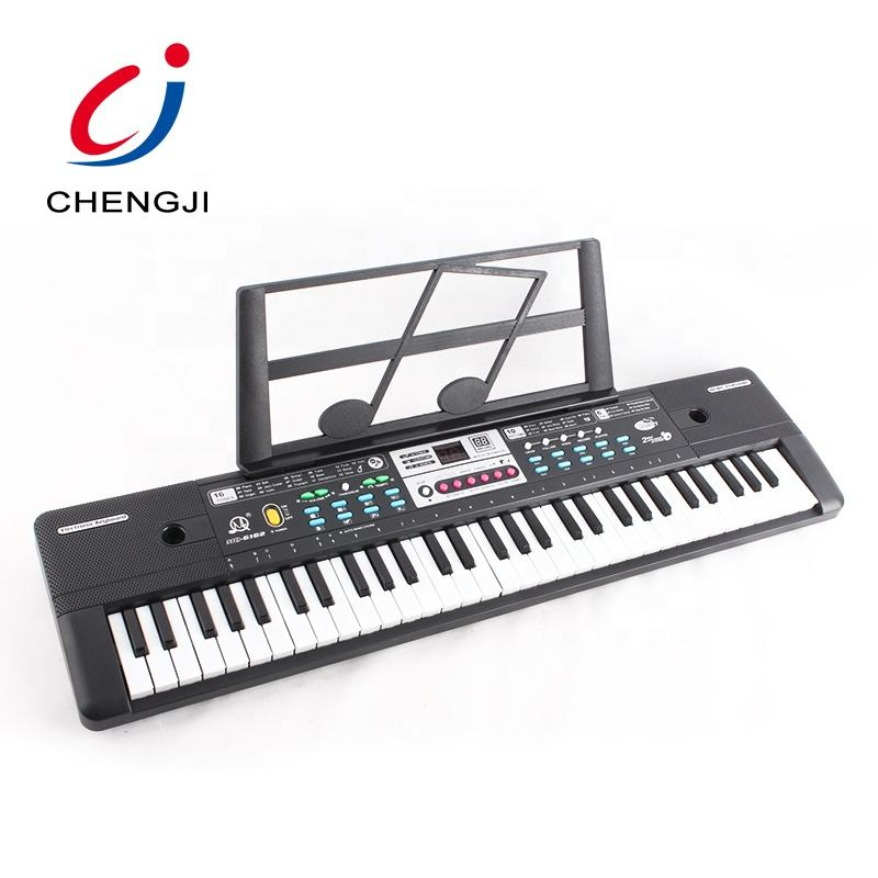 Kids learn 61 keys multifunctional electronic organ keyboard toy with microphone
