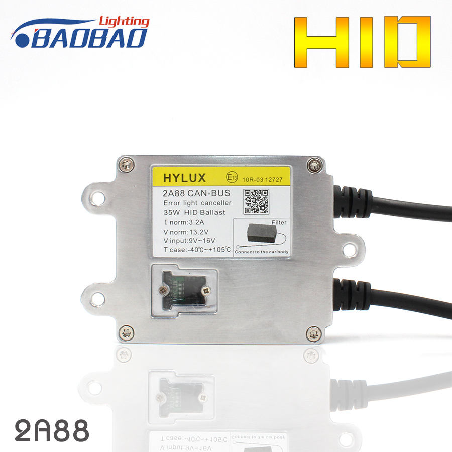 Top quality Hylux 2A88 35W CANBUS ASIC chip car HID headlight ballast car styling Decoder ballast