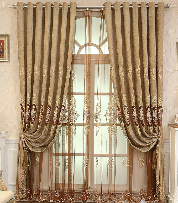 Church Beautiful Curtains Made in China Turkish Curtains
