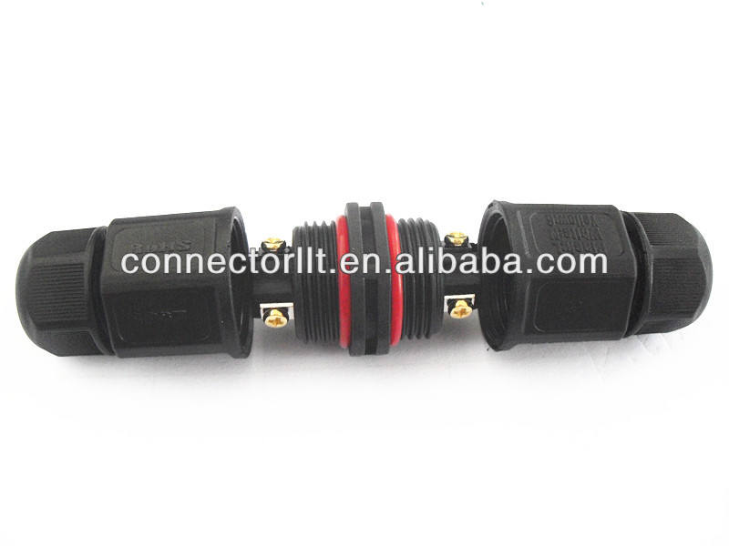 CHINA LLT 3 pinos LED M3 Tipo Parafuso conector do tubo de Fio