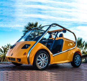 EEC approved 4 wheel scootercar 2 seater electric car AW9021K