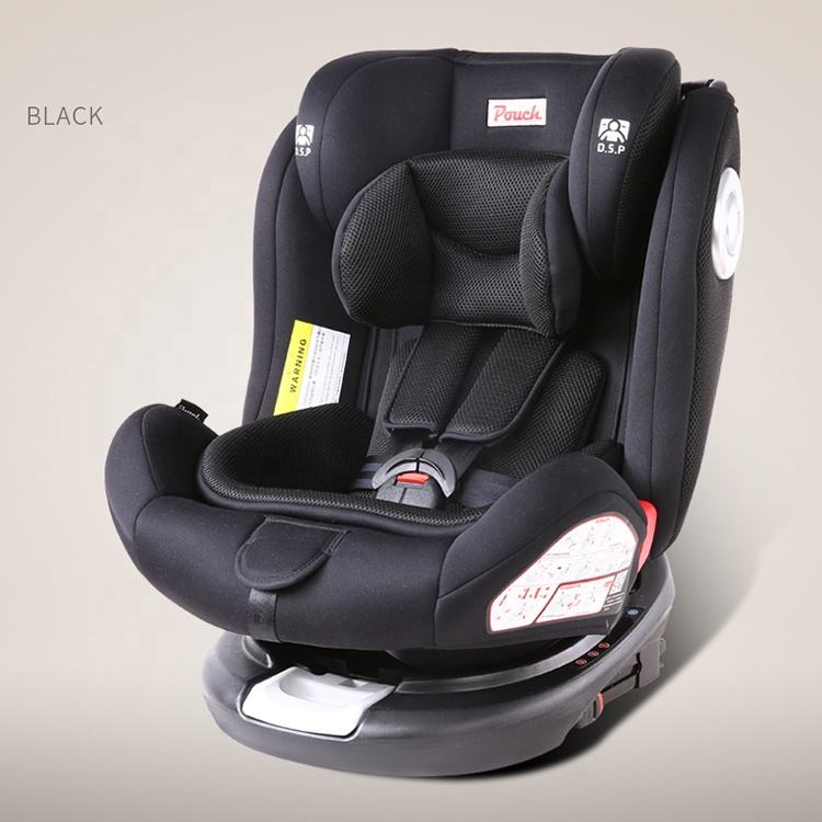 Baby kids infant car seat protector isofix baby car seat 360 child car seat head support