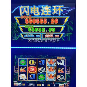 Chinese Manufacturer Hot Sale Lightning Casino Fruit Slot Game Machine