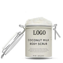 OEM /ODM Private Label Body Polish Scrub Organic Coconut Milk Scrub