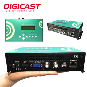 HDMI To RF DVB-T Modulator 16 Channels For Home User And CATV Broadcasting System