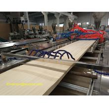 pvc wood plastic composite door panel making machine /wpc profile production line