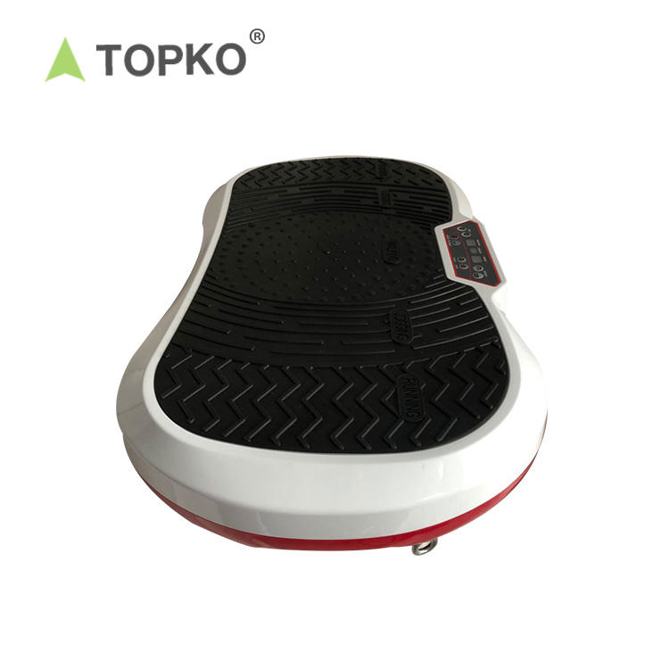 TOPKO Hot selling home training equipment ultimate fat fitness manual ultrasonic fitness machine weight loss vibration plate