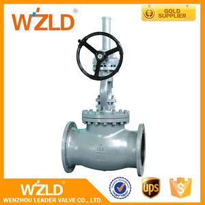 WZLD Low Price ASTM B16.34 BS 1873 Bolted Bonnet Casted Steel Globe Valve With Drawing