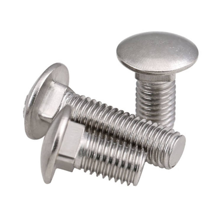 DIN 603 Stainless steel material mushroom head square neck carriage sus bolt