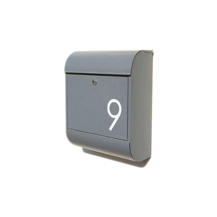 Waterproof Outdoor Wall Mounted Us Mail Aluminum/Stainless Steel Mailbox