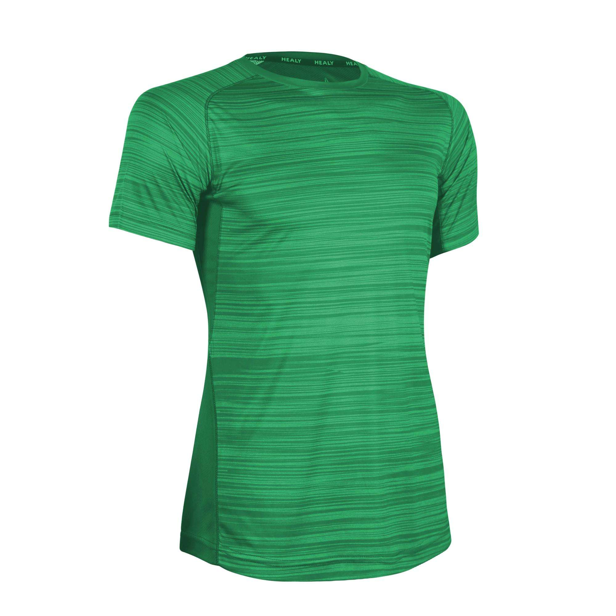 Fitness Clothing Man Green Athletic New Arrival Custom Wear Gym Shirt