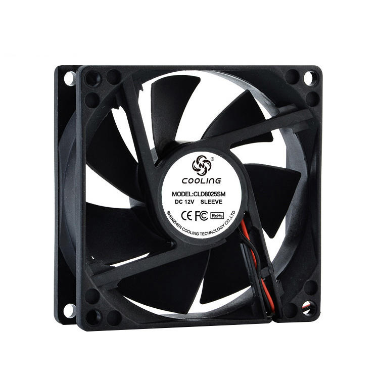 80mm Fan 80X80X25mm DC 12V 24V Computer Fan