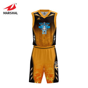 Sales promotion latest style 100% polyester basketball shirt jersey professional sleeveless basketball jersey design for man
