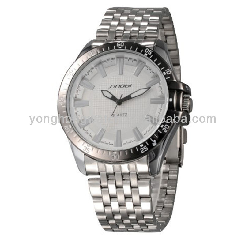 Business man watch overseas famous brand watch