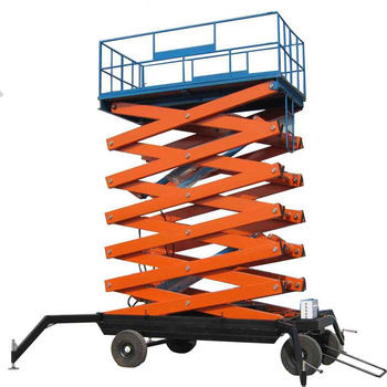 For Construction Works [ Hydraulic ] Hydraulic Mobile Electric Scissor Lift Hydraulic Mobile Electric Scissor Lift 20 M