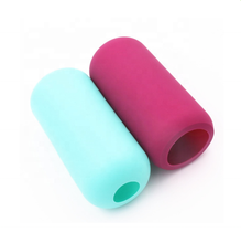 BPA free heat resistant silicone sleeve for bottle