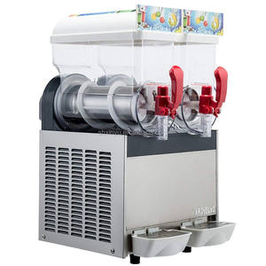 High Quality 2 Tank Slash Machine,Ice Slush Machine,Slush Granita Machine