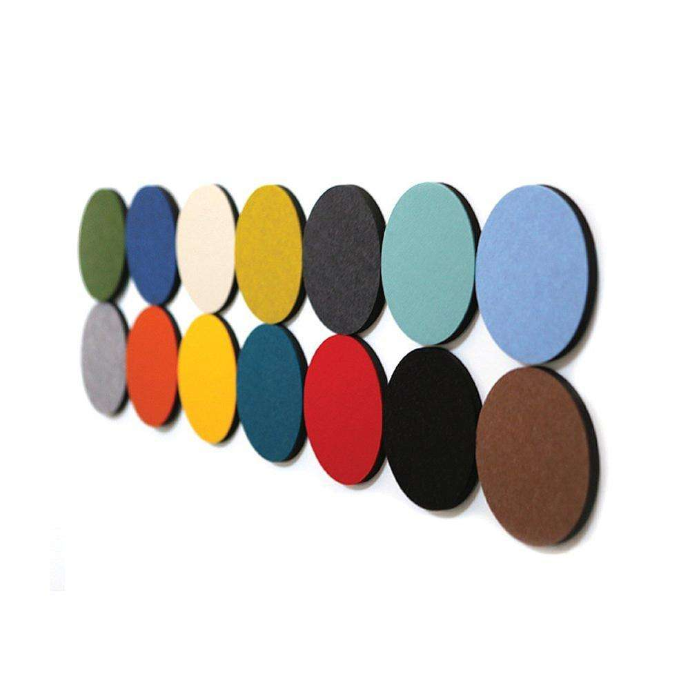 Hot Sale Circle Bulletin Board,Felt Wall Board Tiles Pin Board Wall Decor For Photos