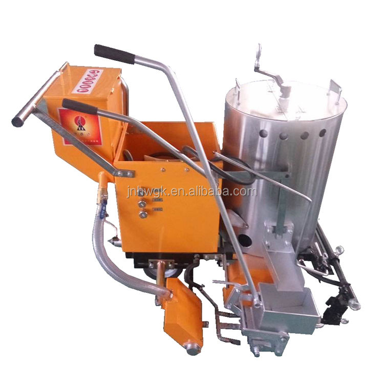 Termoplastic Paint Highway Lineation Marking Machine /Heating Manual Pushing Marking Liner