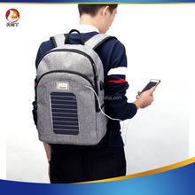 Solar Charging Backpack Outdoors Shoulder Bag Men Travel Bag Multifunctional Leisure Computer Backpack