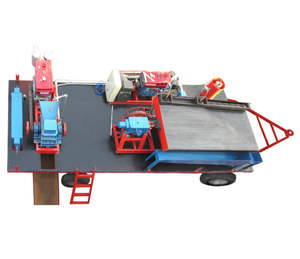 Mobile Small Scale Rock Gold Mining