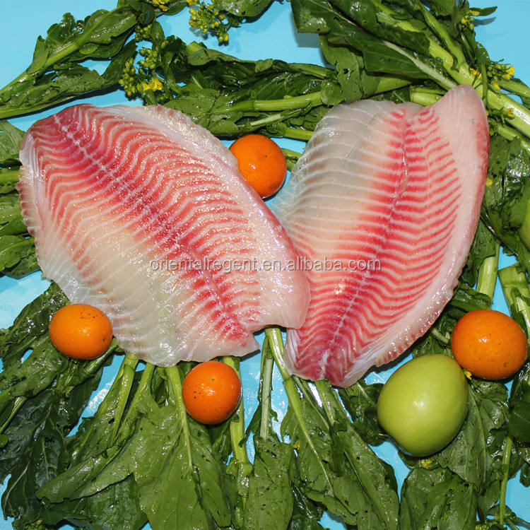 TREATED IQF tilapia fillet 2-3OZ