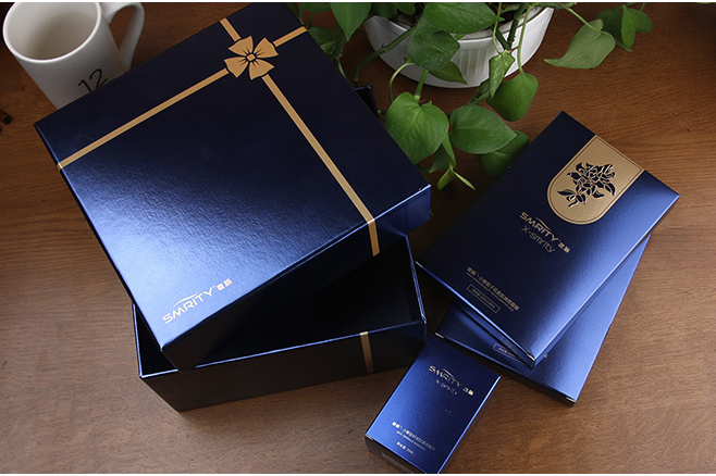Custom 굿 quality printed luxury 화장품 gift box 포장