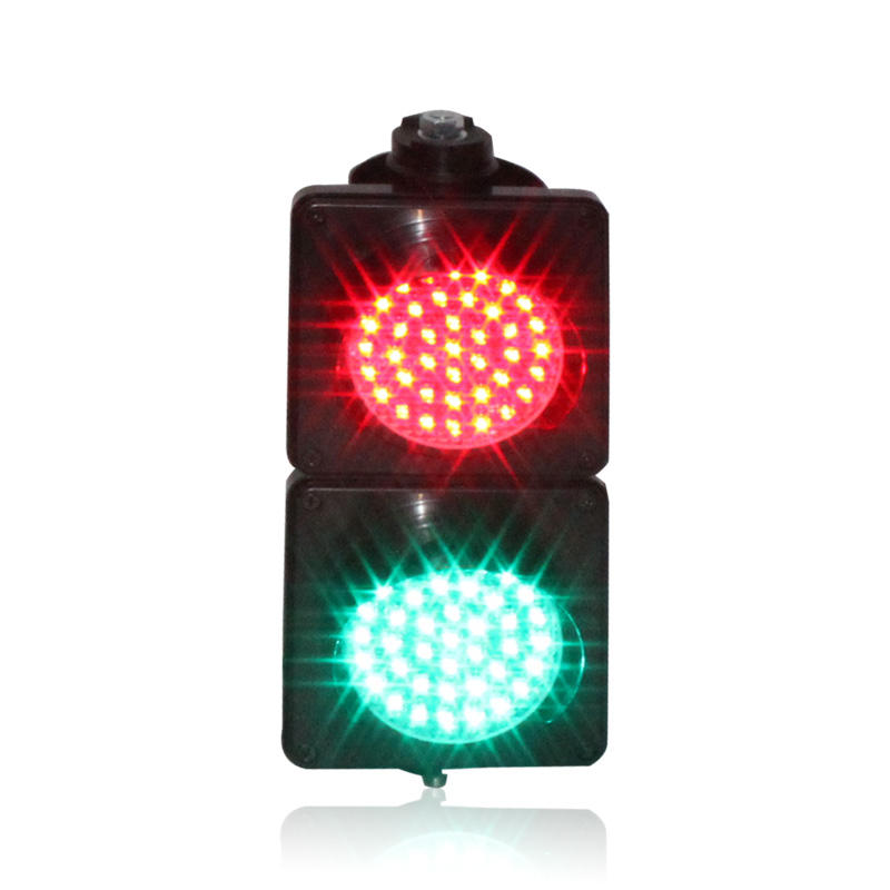 10 years factory 100 mm green red signal traffic light