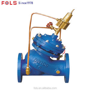 Multi-functional Pumping Line Hydraulic Control Pressure Relief Valve Safety Valve