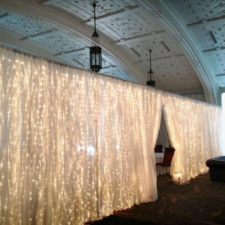 led twinkling stars curtain lights