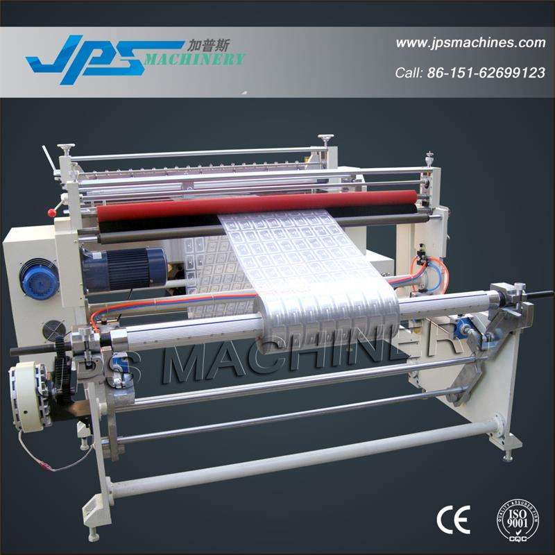 Automatic label film paper sheeter with automatic unwinding system