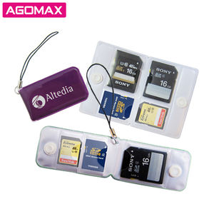 Practical cute design plastic SIM card storage case