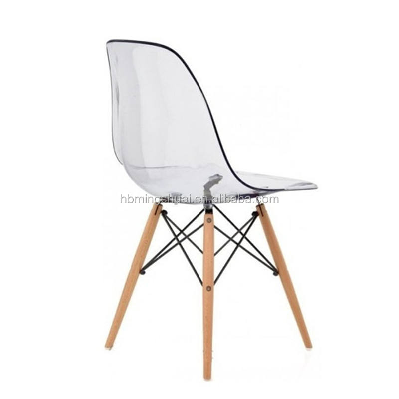 High quality PC material leisure dining chair furniture