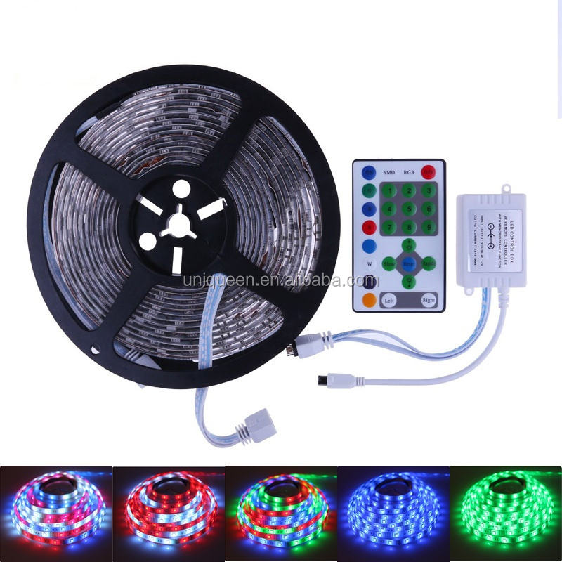 Horse race led strip 5 M SMD5050 54led/M DC12V waterdichte IP65 flexibele + Led controller jagen droom led decoratie licht