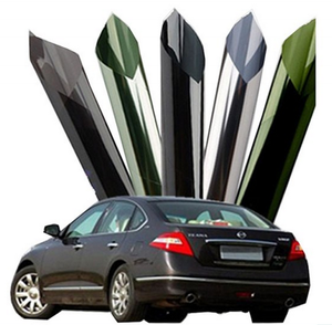 Charcoal 5%, 20%, 35% 1 ply anti-scratch auto solar car window tinting film