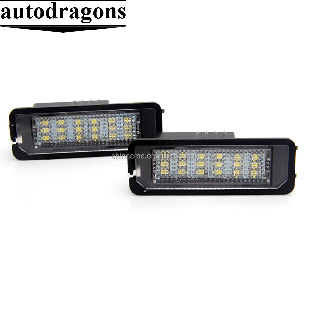 Led Number License Plate Lamp Light For Porsche Cayenne for golf5